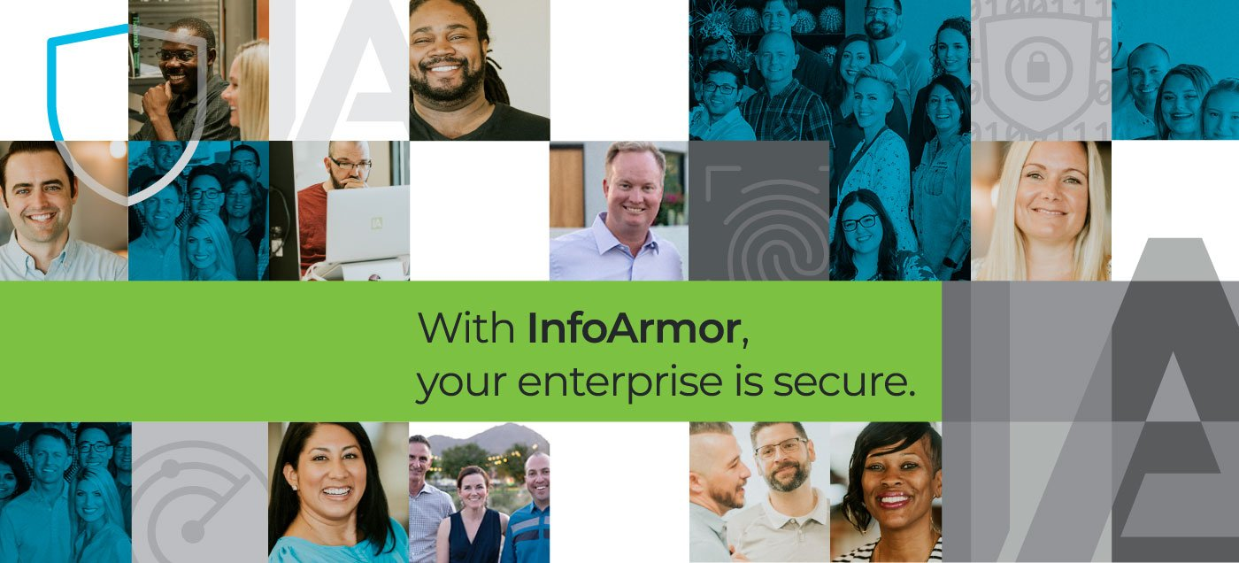 Collage of InfoArmor Team