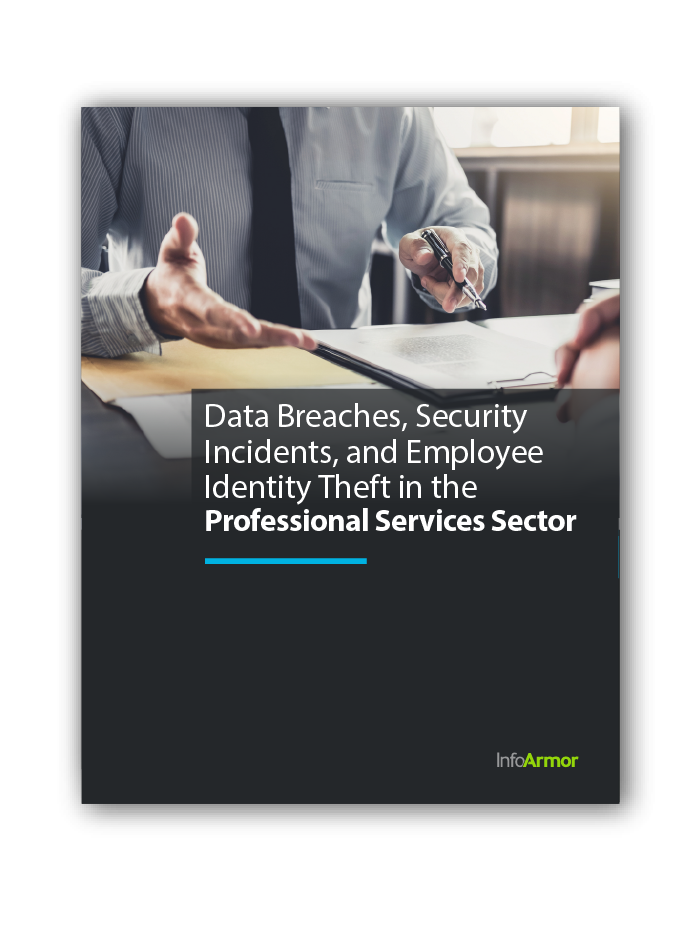 Professional Services Data Breaches, Security Incidents, and Employee Identity Theft