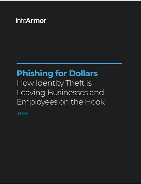 Cover of 'Phishing for Dollars: How Identity Theft Is Leaving Businesses and Employees on the Hook'